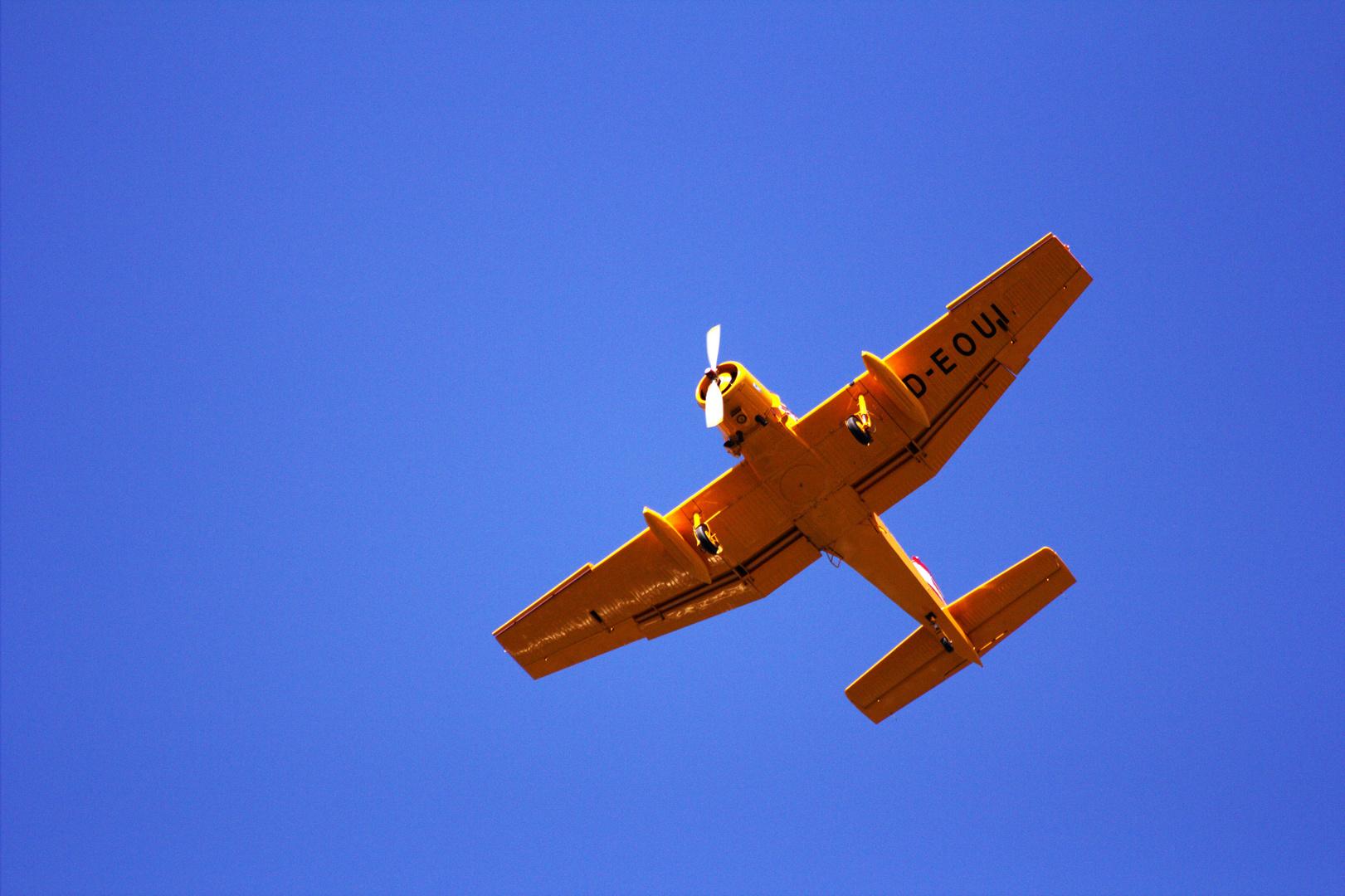 Z37A im Überflug