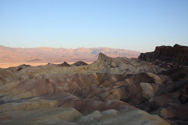 Zabriskie Point @ dawn