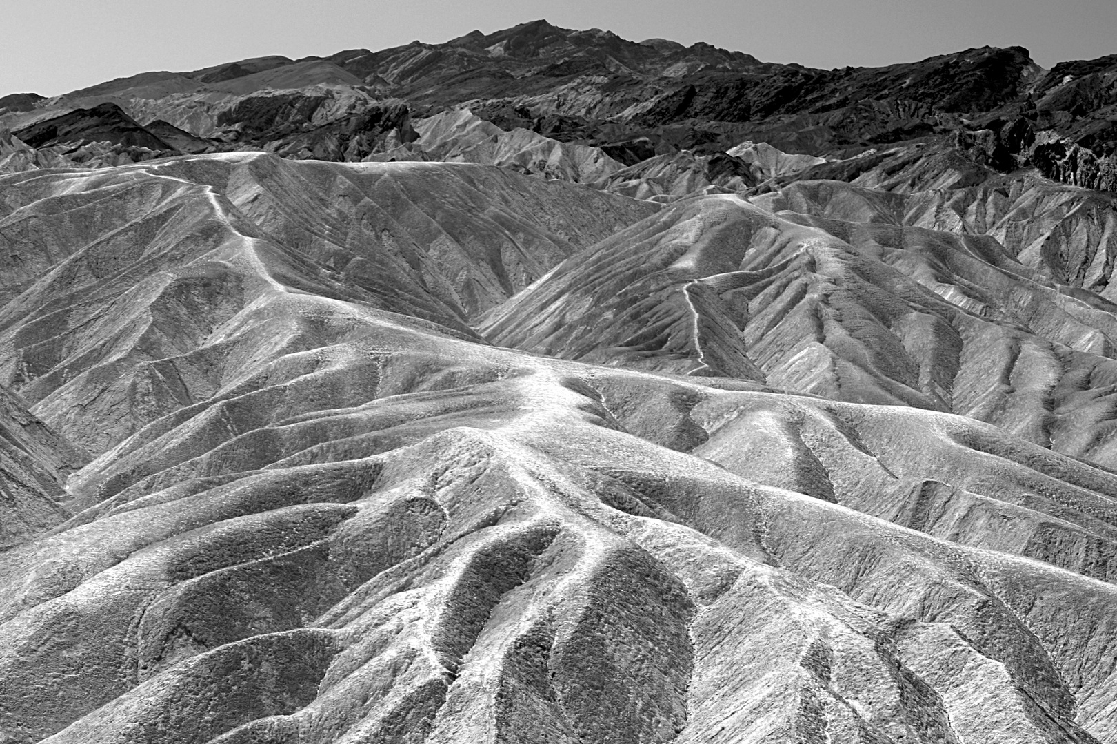 Zabriskie Point, Death Valley 2009