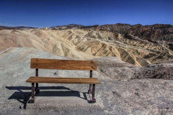 Zabriskie Point/ Death Valley
