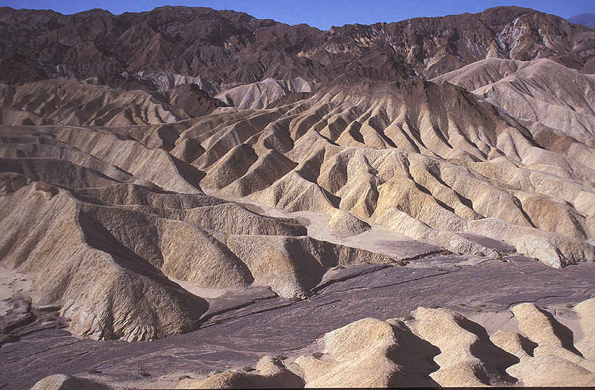 Zabriskie Point im Death Valley (Kalifornien) 1994
