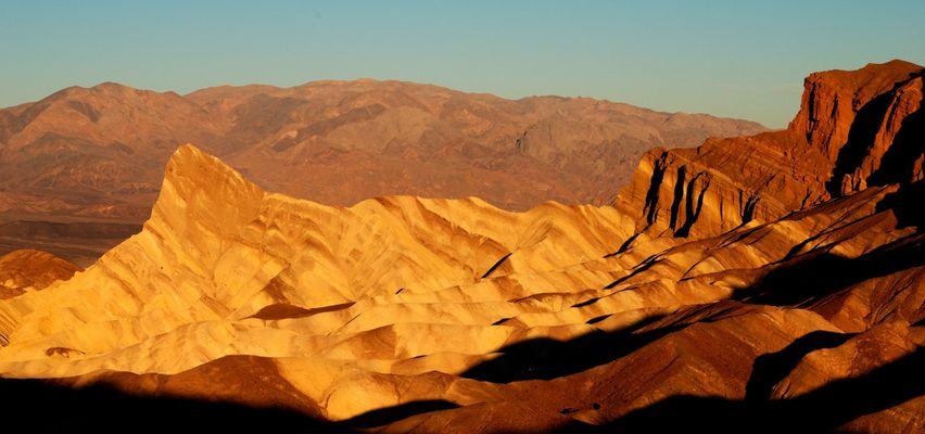 Zabriskie Point im Death Valley - Sonnenaufgang 02