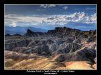 Zabriskie Point in Death Valley NP - United States