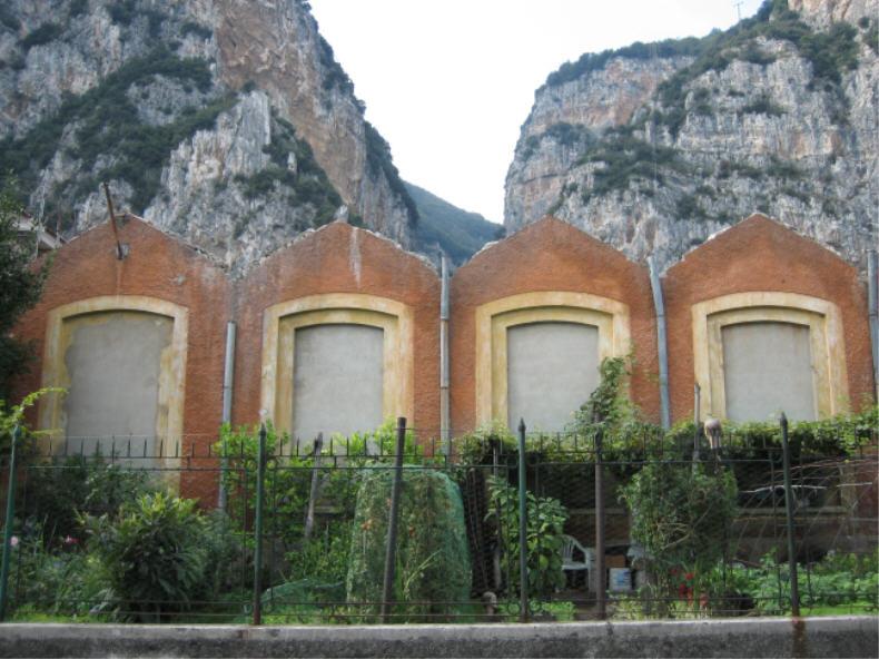 Zackig in Campione am Gardasee!