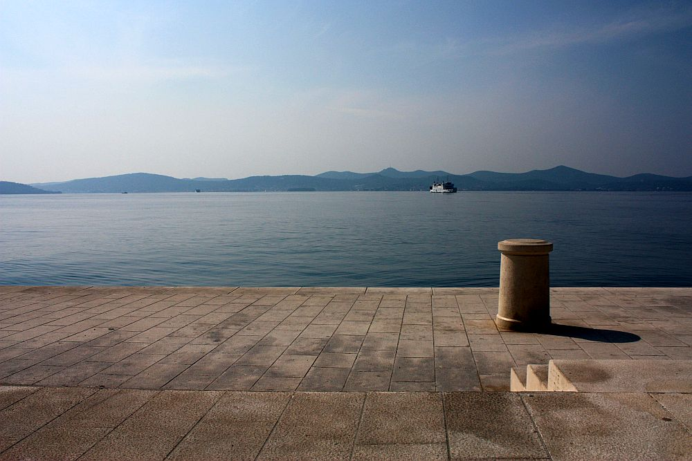 Zadar wharf