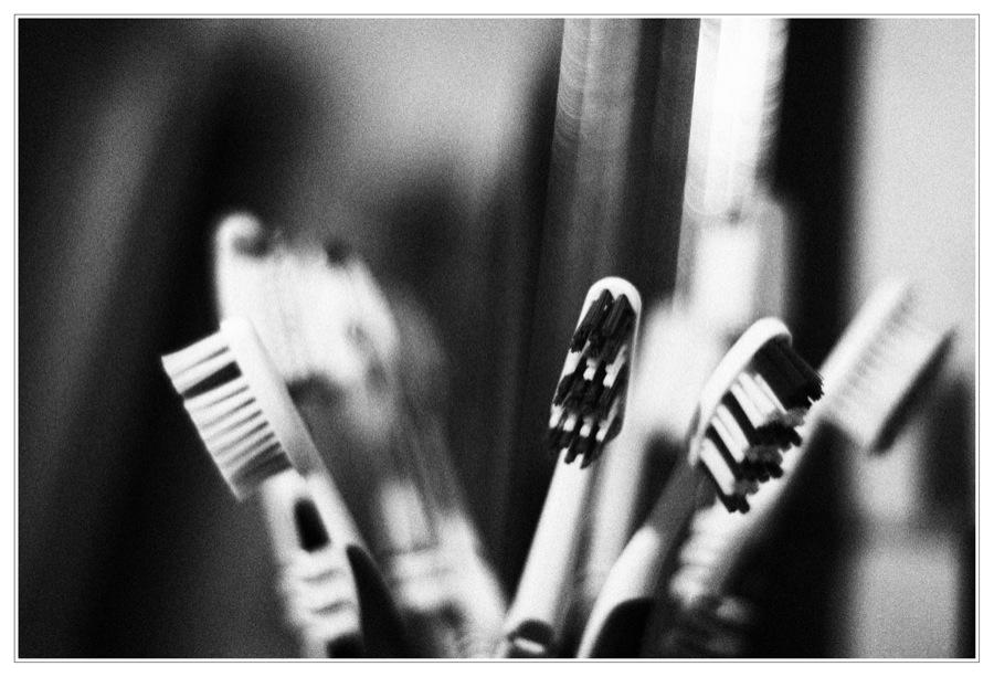 Zähne putzen nicht vergessen...