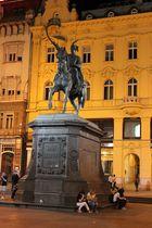 Zagreb Denkmal von Ban Jelacic