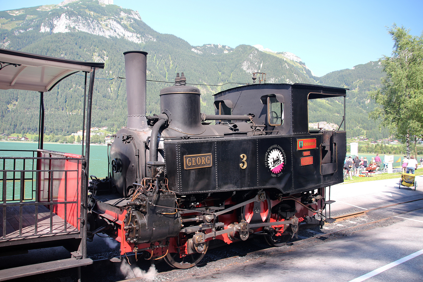 Zahnradbahn am Achensee
