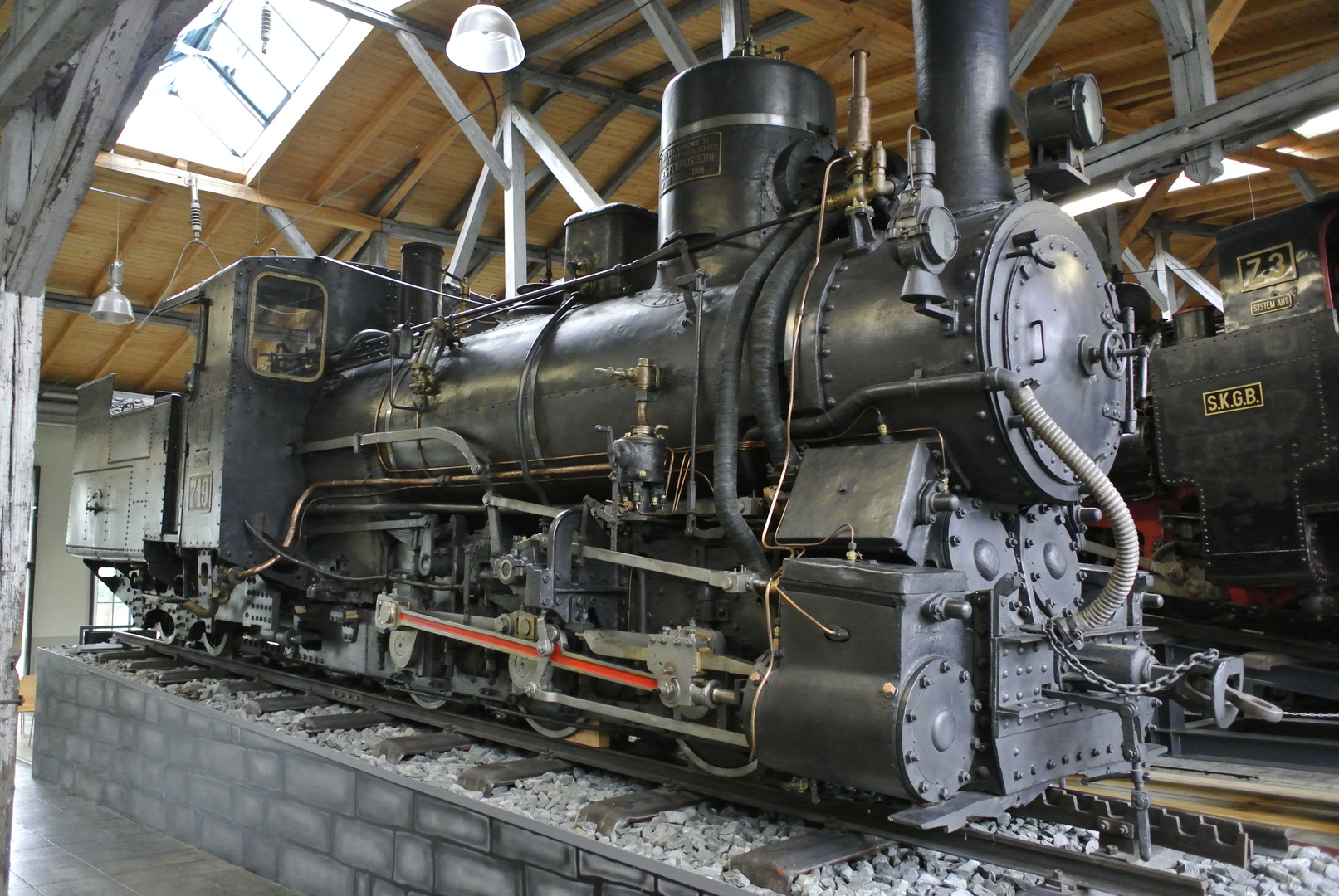 Zahnraddampflok III C 719 (Schmalspur)