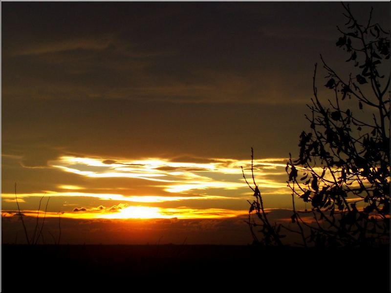 zalazak sunca - jesen u beogradu