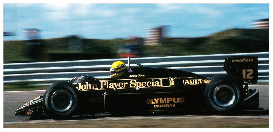 Zandvoort 1985: Senna auf Lotus-Renault