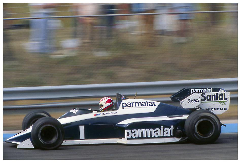 Zandvoort '84: Piquet im Brabham-BMW