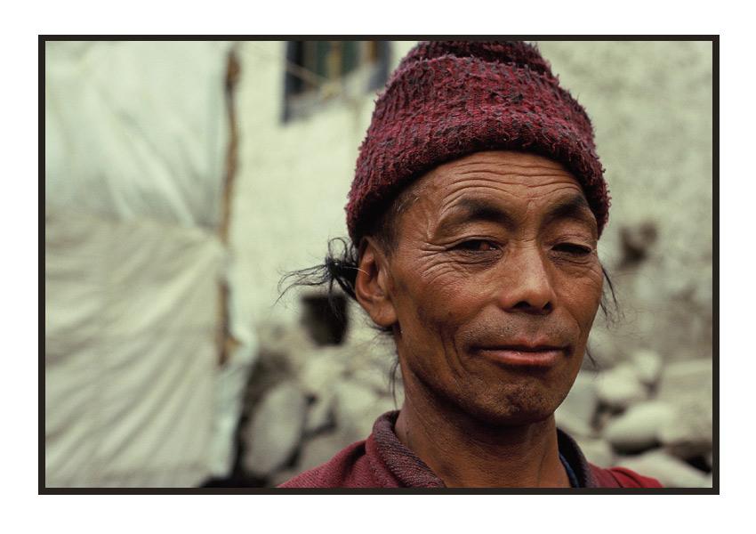 Zanskari aus Lingshat, Tal von Zanskar