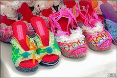 Zapatos de colores