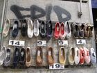 zapatos descansando