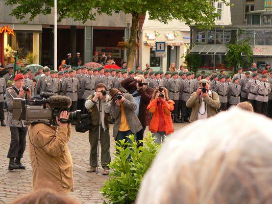 """Zapfenstreich Panzerbrigade 18 """"Holstein"""" vom 19.06.2008   (2)"""