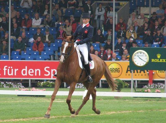 Zara Philipps, Einzelgold bei der WM Aachen,Military