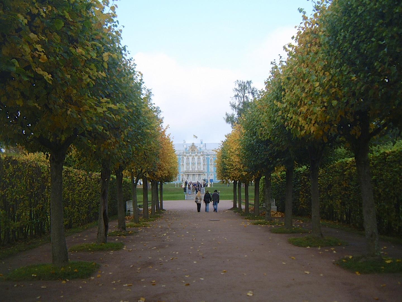 Zarskoje Zelo with the Great Tsaritza Catharine Palace
