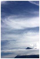Zarte Wolken über dem Niesen, Berner Oberland