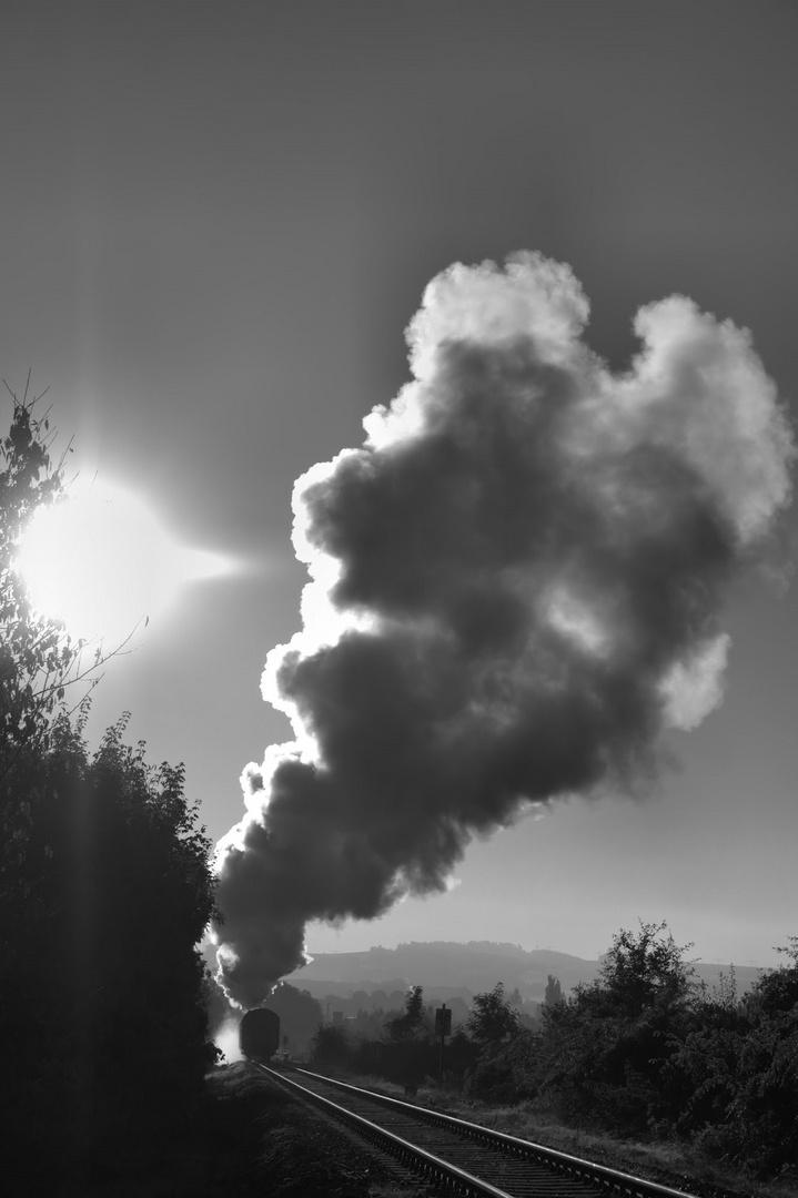 Zauber der Dampflok.