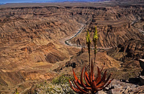 Zauberhaftes Land Namibia -Fish-River-Canyon
