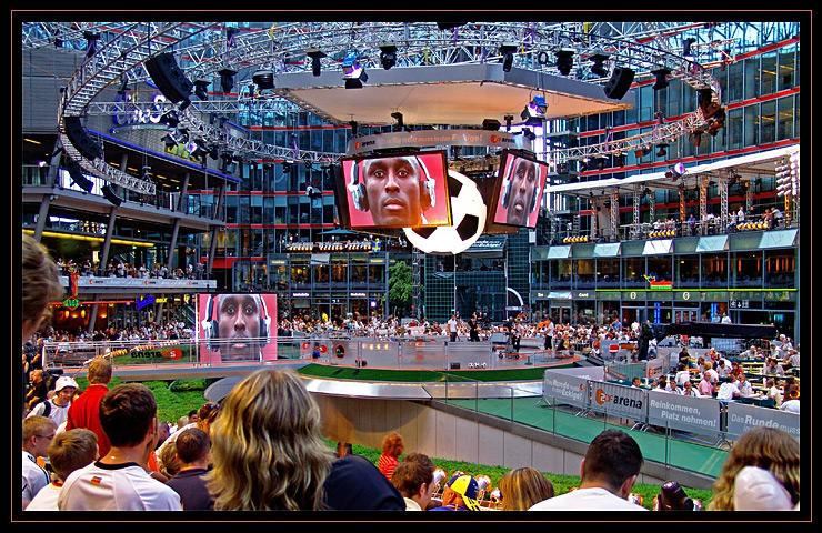 ZDF.arena zur WM 2006 in Berlin - Sony Center