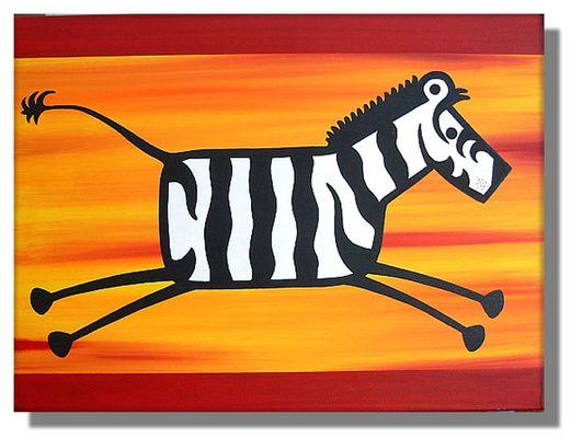 Zebra einmal anders