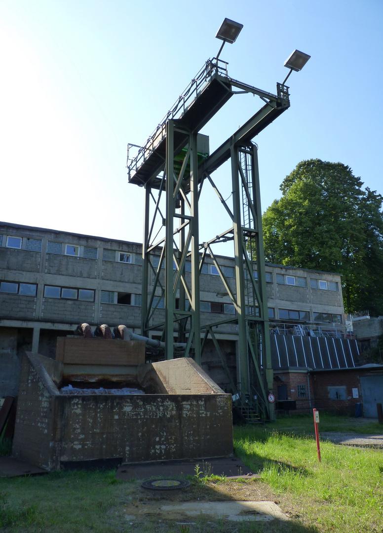 Zeche Friedlicher Nachbar Schacht 2, Bochum-Linden