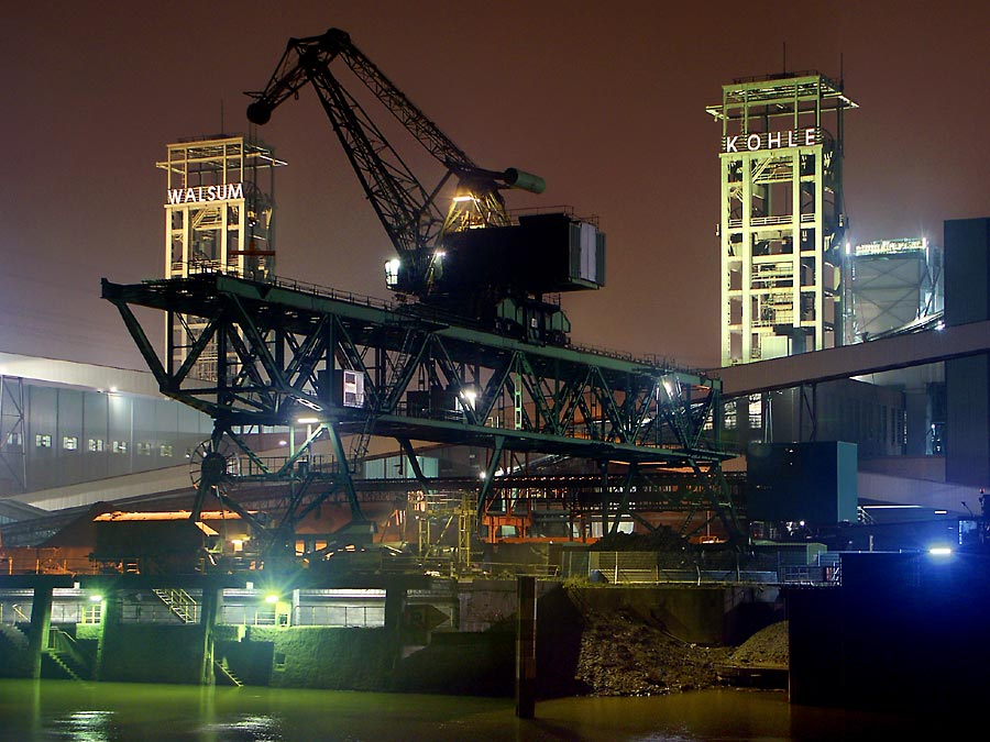 Zeche und Kraftwerk Duisburg Walsum 3