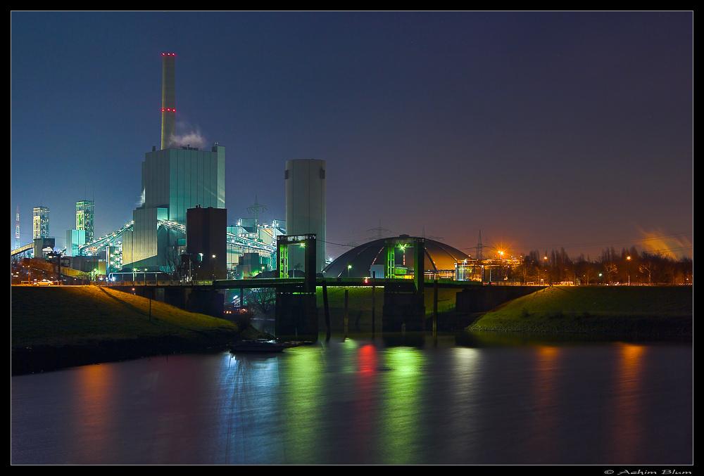 Zeche Und Kraftwerk Duisburg Walsum Foto Bild