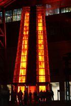 Zeche Zollverein am Abend