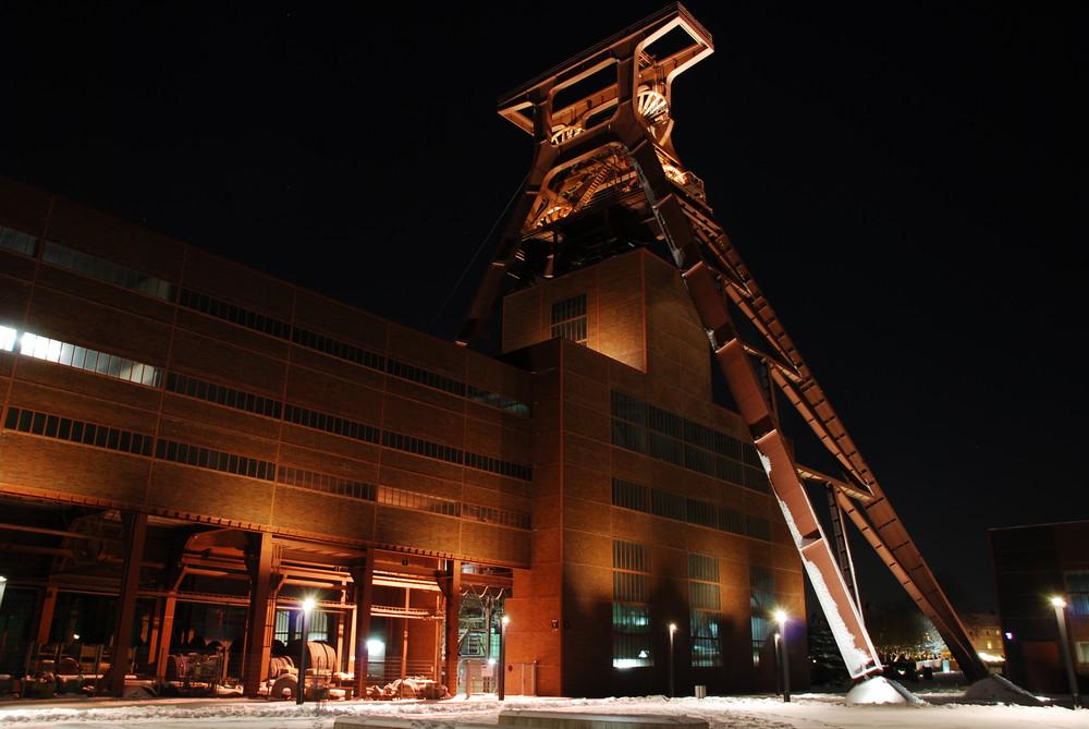 Zeche Zollverein bei Nacht die II