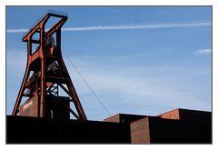 Zeche Zollverein - der Förderturm