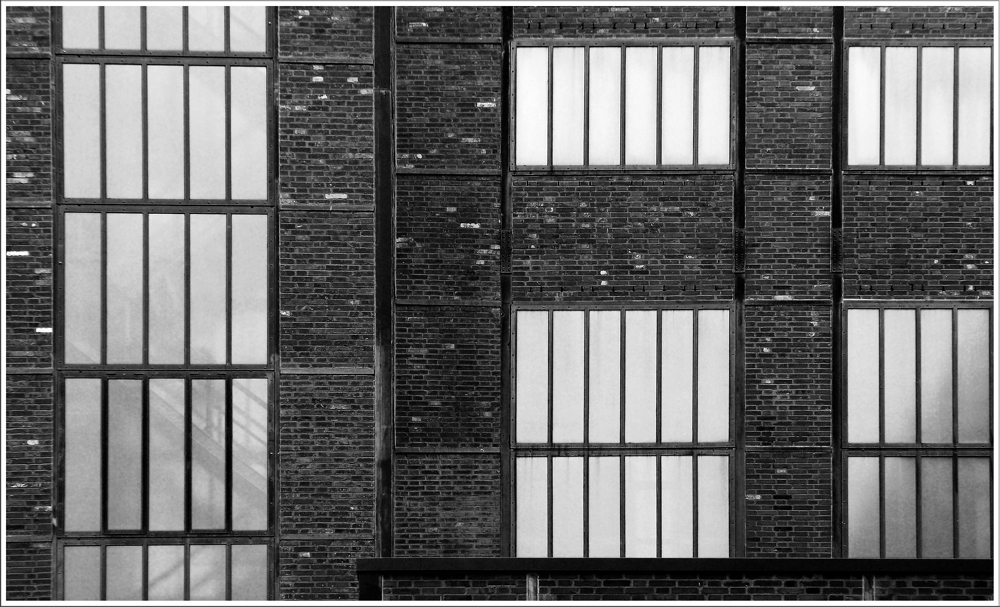 Zeche Zollverein - Fassade Kesselhaus