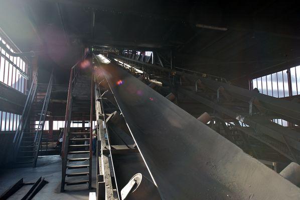 Zeche Zollverein, Förderband, Entladestation