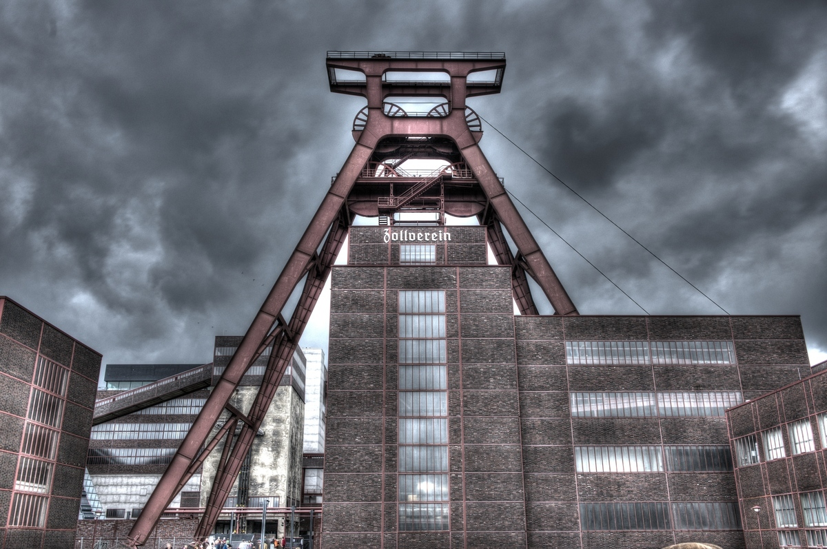 ~ Zeche Zollverein (HDR) ~