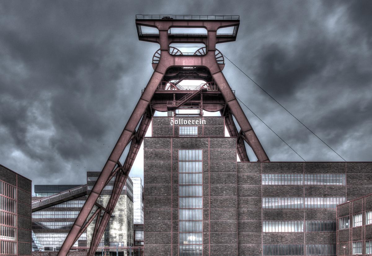 ~ Zeche Zollverein II (HDR) ~