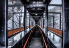 Zeche Zollverein in Essen 2013 HDR Rolltreppe