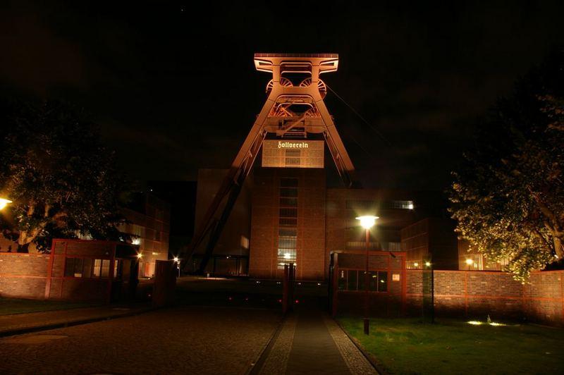 Zeche Zollverein in Essen vorne