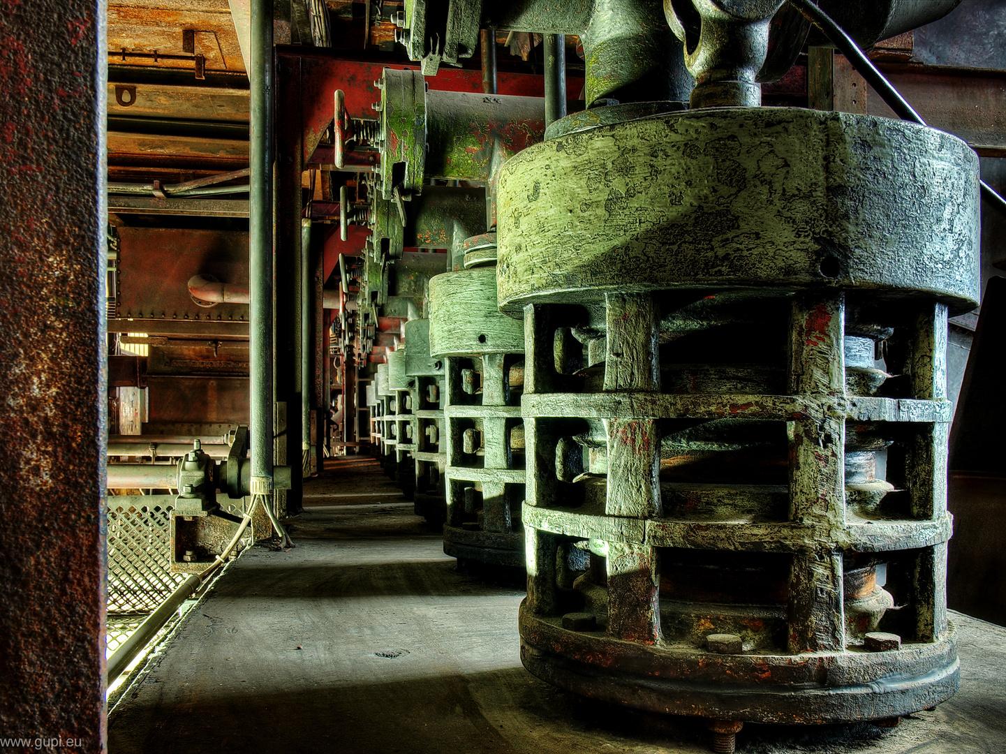 Zeche Zollverein, Kohlenwäsche das Letzte ...