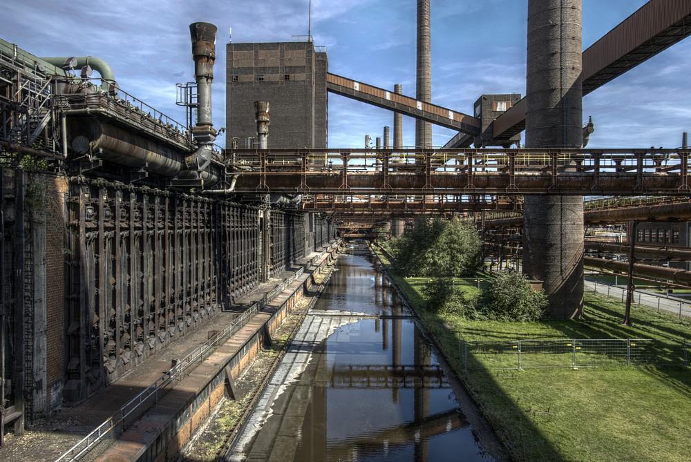 Zeche Zollverein Kokerei HDR