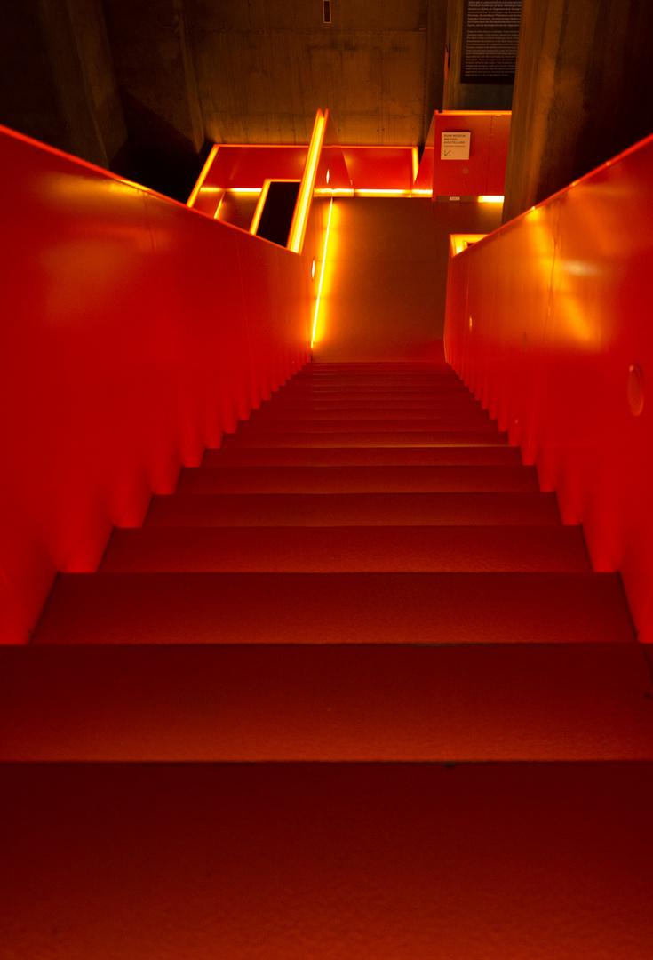 ~ Zeche Zollverein - rote Treppe ~