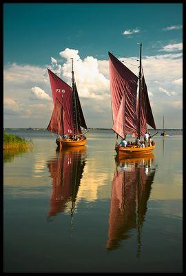 Zeesboot im Duett
