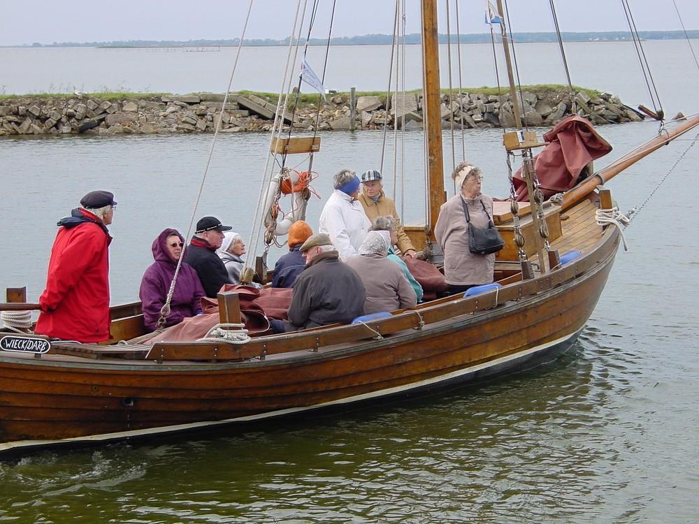 """Zeesboot """"Rerik"""" im Hafen von Barth / Darß"""