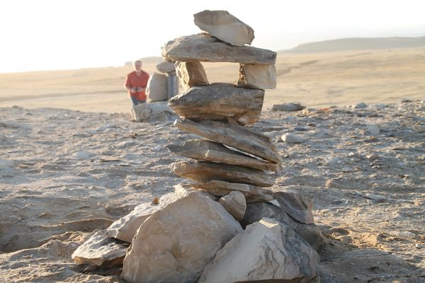 Zeichen in der Wueste ... in Peru +Frage