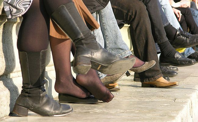 Zeigt her eure Füße, zeigt her eure Schuh.
