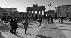 Zeit am Brandenburger Tor 2014