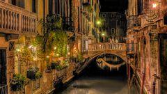 Zeit für das Abendessen - Venedig