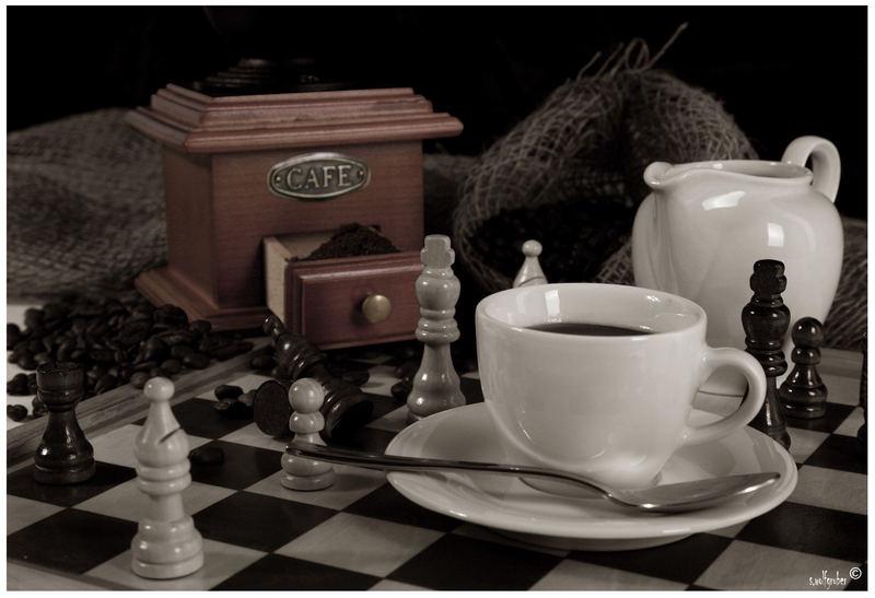 ... Zeit für einen Kaffee ...