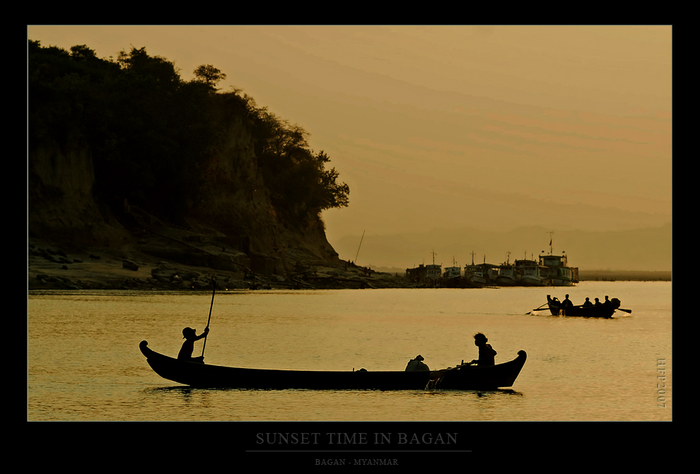 Zeit für einen Sonnenuntergang in Bagan...